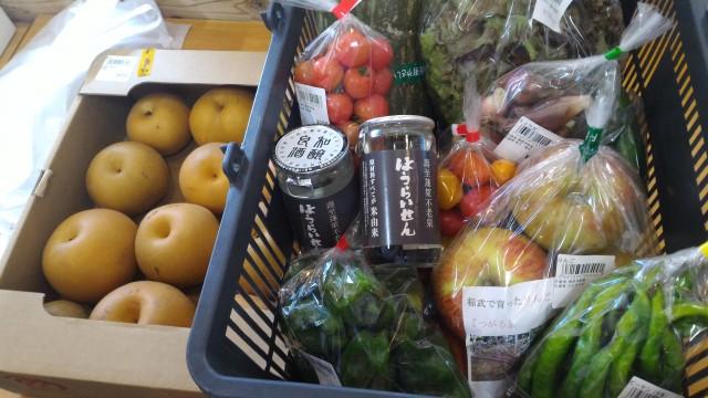 道の駅どんぐりの里いなぶ・新鮮野菜や地酒「ほうらいせん」の味(豊田市稲武)