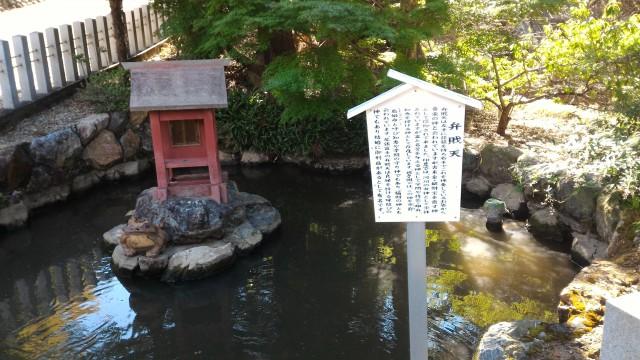 「尾張富士大宮浅間神社」犬山市の弁財天