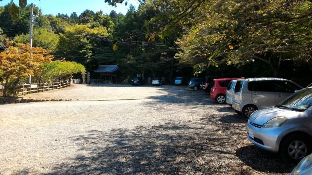 「尾張富士大宮浅間神社」犬山市の一番奥の駐車場トイレあり