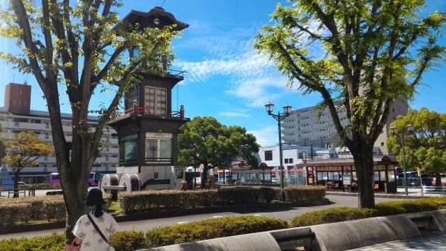 名鉄犬山駅の東口のからくり時計