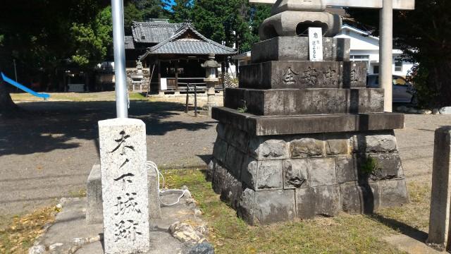 犬山城の前身「木ノ下城跡」は戦国時代初期の名残りが・秀吉ものんだ?金明水