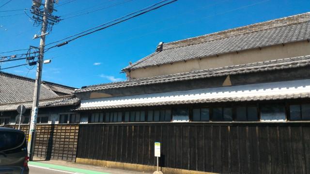 名鉄犬山駅の西側にほど近いところの旧家
