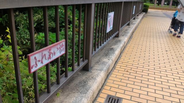 朝宮公園(愛知県春日井市)のふれあい橋