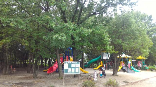 朝宮公園(愛知県春日井市)の児童園西
