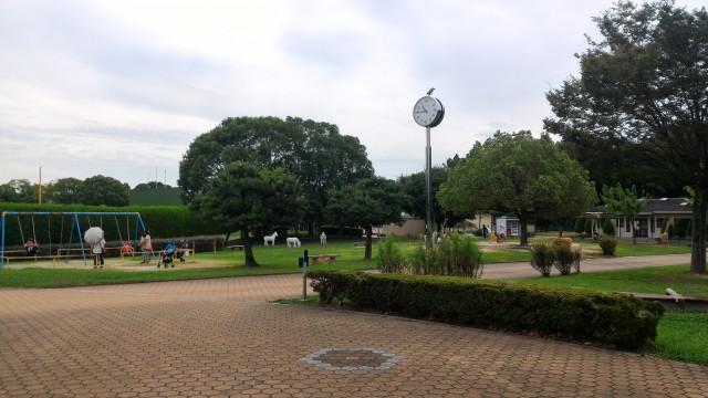 朝宮公園(愛知県春日井市)の児童園のブランコ