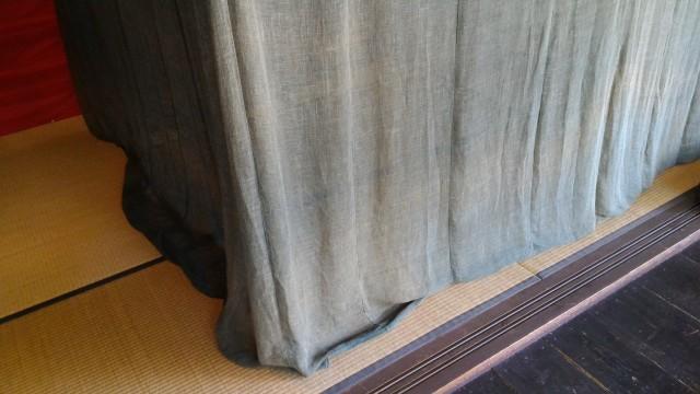 かいこの家・日本昭和村夏に欠かせなかった蚊帳