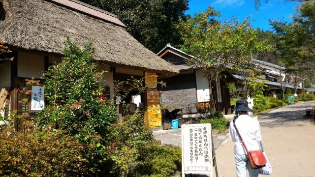 日本昭和村(岐阜県美濃加茂市)のせんべい専門店