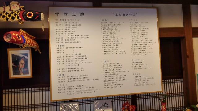 日本昭和村(岐阜県美濃加茂市)の玉緒の家玉緒さんの年表