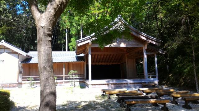 日本昭和村(岐阜県美濃加茂市)の能楽堂