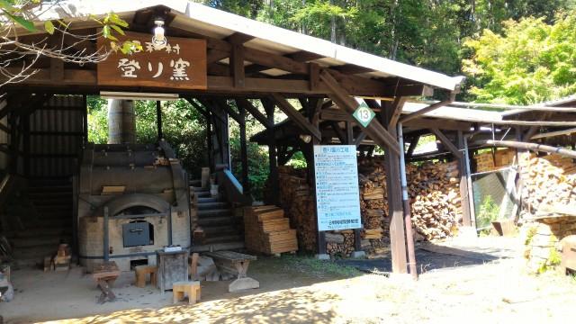 日本昭和村(岐阜県美濃加茂市)の登り窯