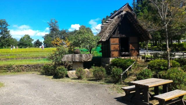 日本昭和村(岐阜県美濃加茂市)の散策路