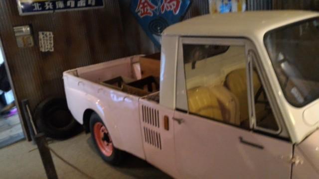 日本昭和村(岐阜県美濃加茂市)のやまびこ学校(昭和パビリオン)三輪車