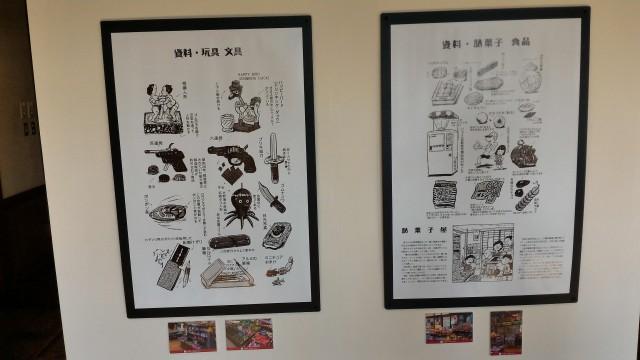 日本昭和村(岐阜県美濃加茂市)図説団塊の世代本玩具文具駄菓子食品