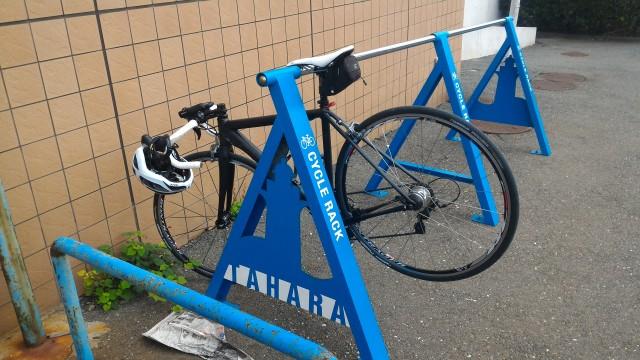 道の駅「伊良湖クリスタルポルト」旅客ターミナル(愛知県田原市)駐輪場