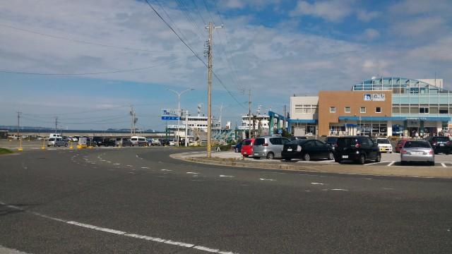 道の駅「伊良湖クリスタルポルト」外観(愛知県田原市)