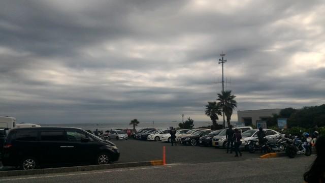 愛知県伊良湖岬の恋路ヶ浜の無料駐車場