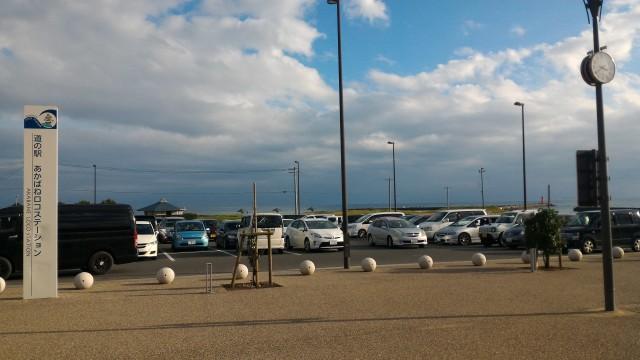 道の駅「あかばねロコステーション」の無料駐車場