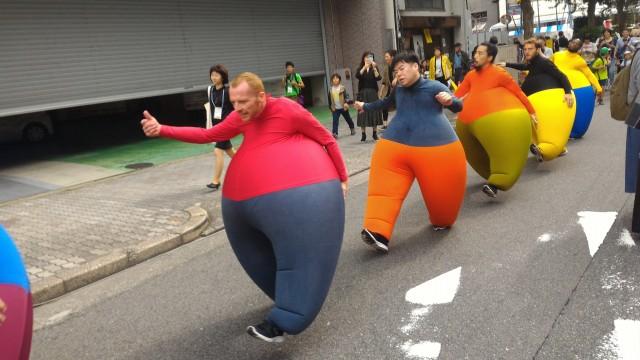 長者町ゑびす祭り・パフォーマンス(名古屋市中区)
