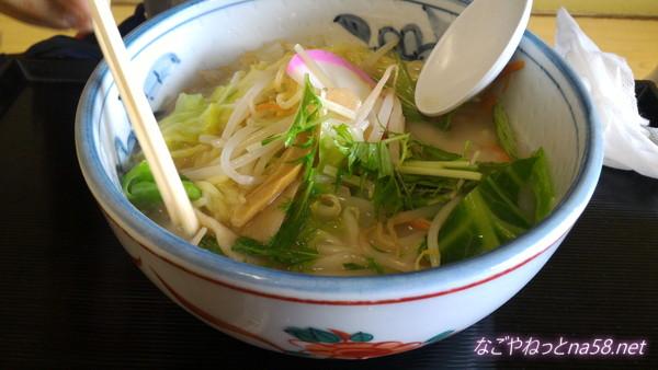 春日井市役所展望レストラン大盛野菜ラーメン