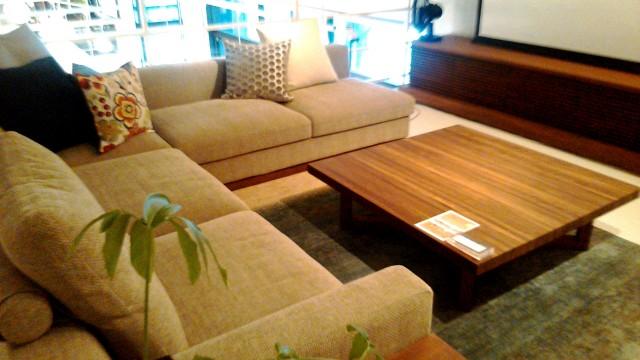 家具店「リアルスタイルホーム」展示家具リビングセット