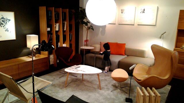 家具店「リアルスタイルホーム」展示家具