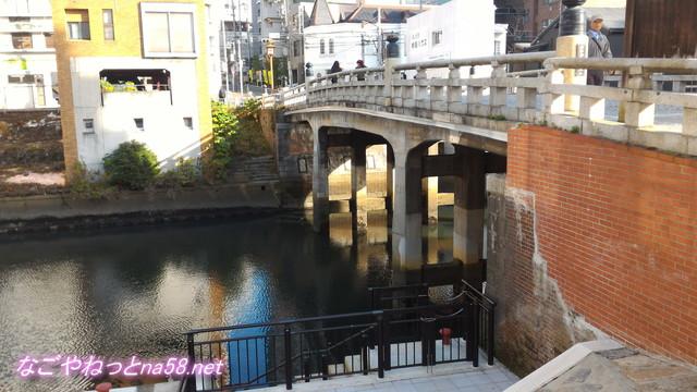 五条橋の橋げた