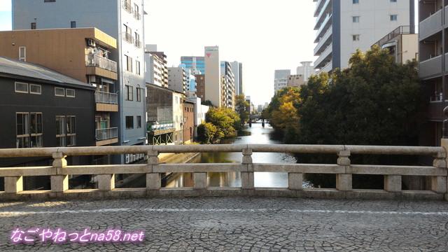 五条橋から堀川南方向を見た風景