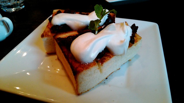 名古屋市西区四間道の「月のうさぎ」カフェダイニング小倉トースト