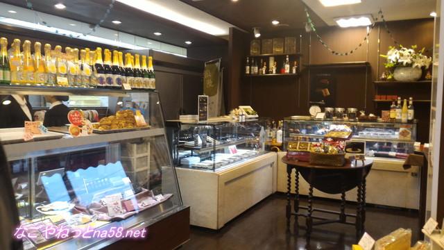 洋菓子フィレンツェ大治店のチョコレートコーナー