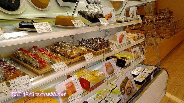 亀屋芳広城北店店内の様子(名古屋市北区)ケーキ類