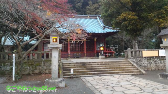 熱海伊豆山神社本殿と境内