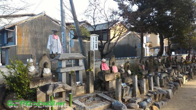愛知県あま市の甚目寺観音修行の道場四国八十八か所巡礼