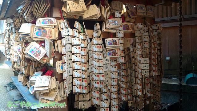 三重県桑名市の多度大社の絵馬うまくいく絵馬