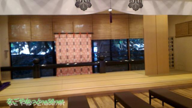三重県桑名市の多度大社の待合所