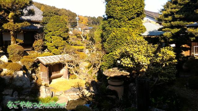 鯉料理「大黒屋」(三重県桑名市)の庭園
