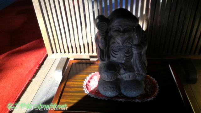 鯉料理「大黒屋」(三重県桑名市)屋根瓦にも置物にも大黒様が