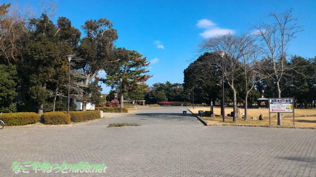 中田島砂丘(静岡県浜松市)の向かい側の公園