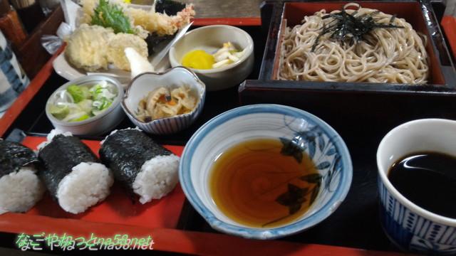 「三ッ角屋」愛知県あま市七宝町・ざる天ぷら定食