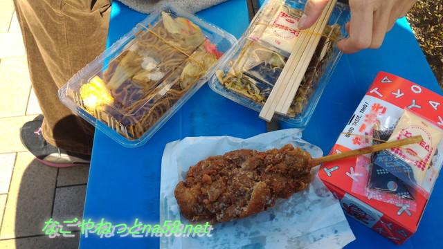 佐布里池の梅林(愛知県知多市)梅まつりの屋台と食べ物
