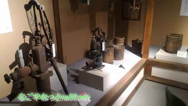 愛知県知多市水の生活館の展示