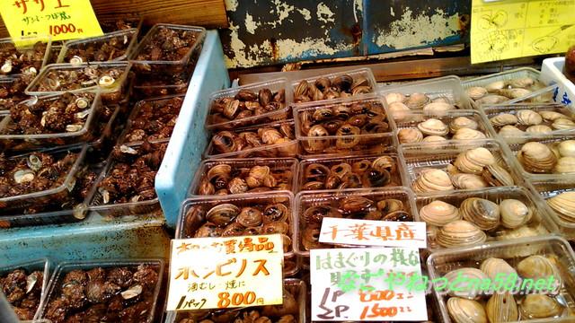 愛知県南知多豊浜「魚ひろば」の新鮮な魚介類