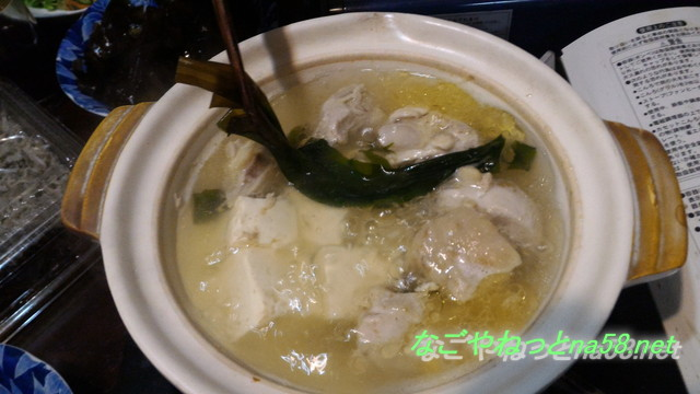 愛知県南知多豊浜「魚ひろば」丸勘商店の生わかめでしゃぶしゃぶを
