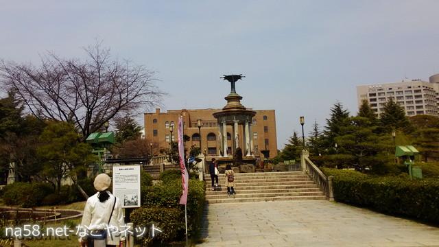 名古屋市公会堂前、鶴舞公園噴水