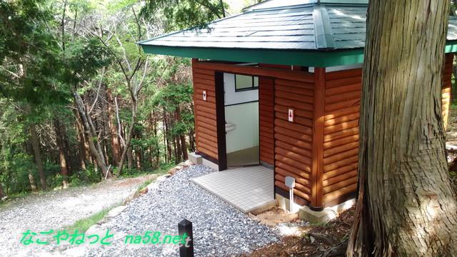 井伊谷城跡にあるきれいなトイレ