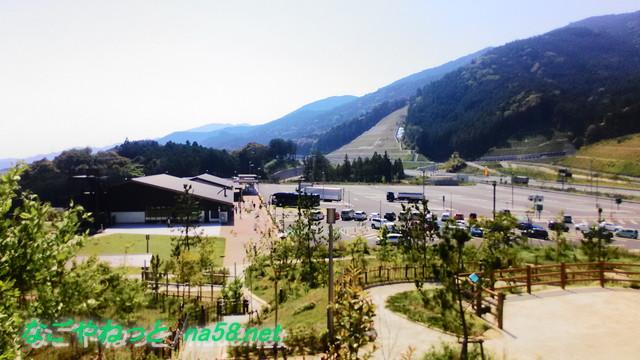 長篠設楽原の合戦信長戦地本陣跡からの景観