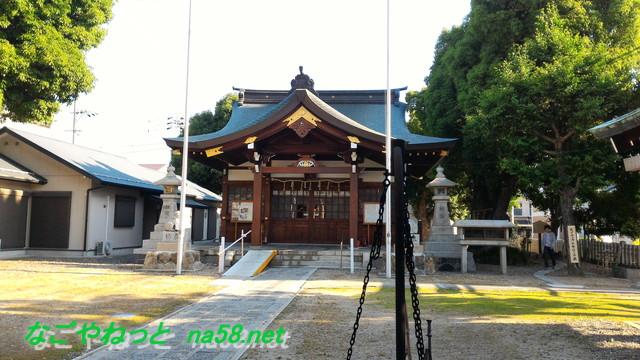 名古屋市北区多奈波太(たなばた)神社本殿