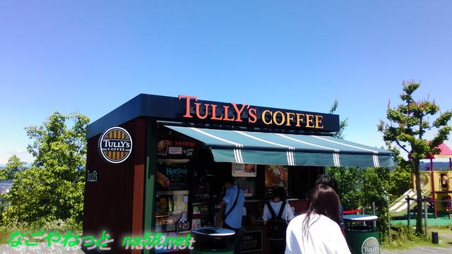 土岐アウトレットモールの広場にあるタリーズコーヒー