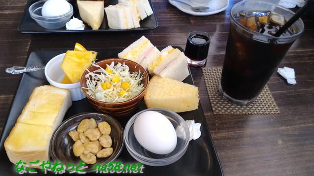 愛知県あま市「コーヒー杏の樹」のモーニングサービス杏モーニング