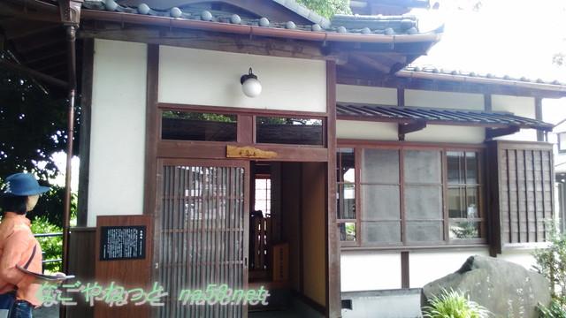 岡本一平の「糸遊庵」の玄関