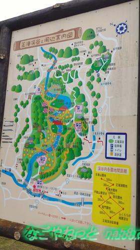 愛知県豊田市王滝渓谷の地図